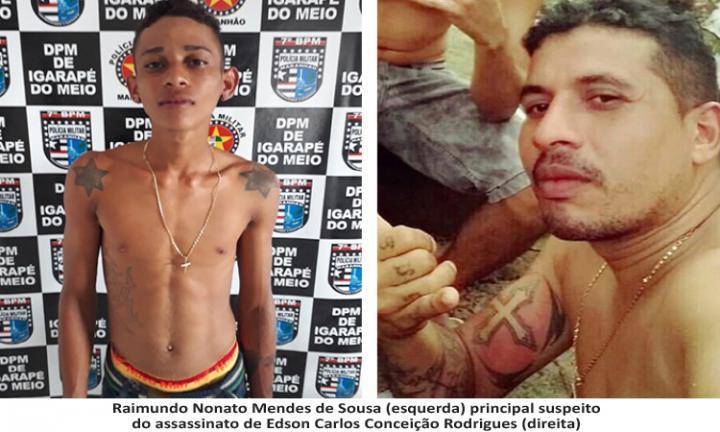Agora Santa Inês - Corpo é encontrado enrolado em sacos de nylon em Igarapé do Meio e o suspeito do assassinato é preso