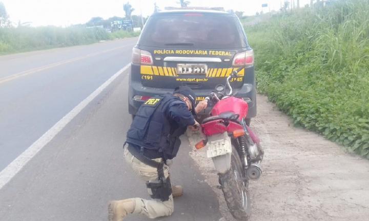 Agora Santa Inês - Polícia Rodoviária recupera moto roubada na BR-316  próximo a Santa Inês