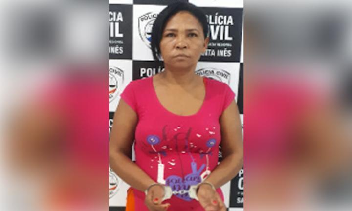 Agora Santa Inês - POLÍCIA  CIVIL PRENDE  MULHER  EM  SANTA INÊS  ACUSADA  DE  SER  TRAFICANTE  DE  DROGAS