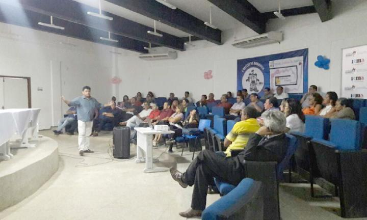 Agora Santa Inês - Em Santa Inês, gestores de 12 cidades trocaram experiências em Encontro Regional