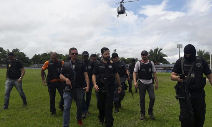 Agora Santa Inês - POLÍCIA DEVE APRESENTAR HOJE BANDIDOS QUE ASSALTARAM BB DE BOM JARDIM
